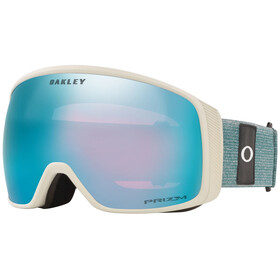 Oakley Flight Tracker XL Lunettes de ski Homme, heathered grey balsam/prizm snow sapphire